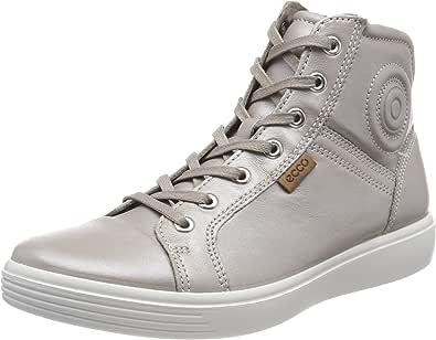 ECCO 女士 S7 青少年高帮运动鞋