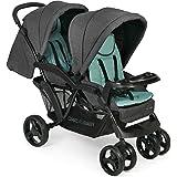 CHIC 4 BABY 273 65 双重婴儿车,混合薄荷色,灰色