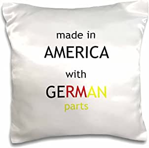 brooklynmeme 诙谐语录–MADE IN America with GERMAN parts–枕套