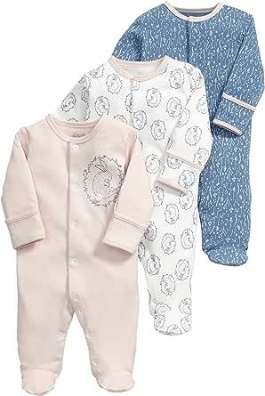 Mamas & Papas 女婴兔子连体服 3 件套