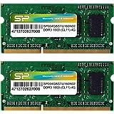 Silicon Power 笔记本内存条SP008GBSTU160N22  标准 4GB×2