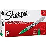 Sharpie 三福 精细环保记号笔-SAN30004(绿色 12支/盒)