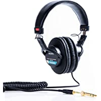 Sony 索尼 MDR-7506 / 1专业耳机,黑色