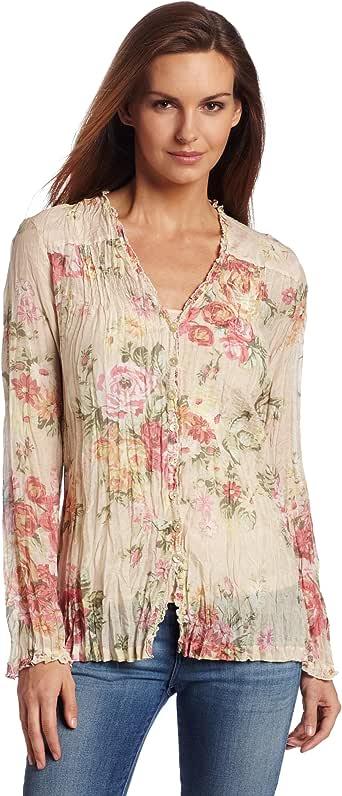Pendleton 女式 Charlotte 衬衫 Savannah Rose Medium