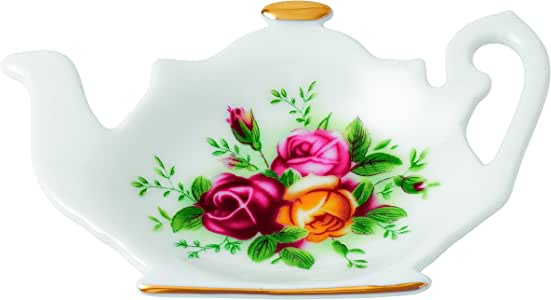 Royal Albert Old Country Roses 茶尖,11.94 厘米,多色