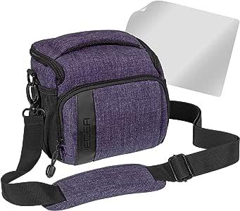 pedea 单反相机包适用于 sony slt-a58K / -a58y 与时尚设计/Canon EOS 1100D/Nikon COOLPIX 80d P 900/ Panasonic LUMIX DMC-FZ 1000带屏幕保护