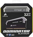CORSIAR 美商海盗船 DOMINATOR PLATINUM 32GB(2x16GB)DDR4 3200MHz C1…