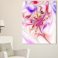 Design Art 独特红色分数设计图案超大抽象画布艺术