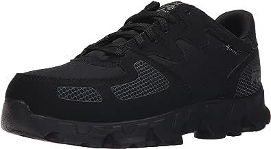 Timberland PRO 男式 Powertrain Alloy Toe ESD 低帮工作鞋