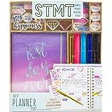 STMT 计划表套装,由 Horizon Group USA,装饰您的终极计划表/组织者/日记本,带装饰、趣味贴纸和纸夹、邮票标记和笔