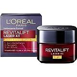 L'Oréal Paris 巴黎欧莱雅 复颜光学系列(Revitalift Laser X3) 玻尿酸冻龄面霜日霜,SPF 20,三倍锁龄作用,防止紫外线老化迹象,50ml