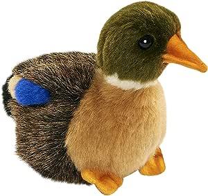 Hansa Mallard 鸭绒毛绒玩具,4英寸