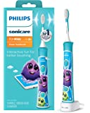 Philips 飞利浦 Sonicare HX6321 / 02 Sonicare 儿童充电式电动牙刷,蓝色