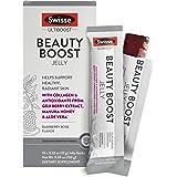 Swisse Ultiboost Beauty Boost啫喱果冻棒,覆盆子玫瑰| 海洋胶原蛋白,枸杞果抗氧化剂,麦卢卡…