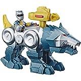 Playskool Heroes Power Rangers Silver Ranger & Wolf Zord 2 只…