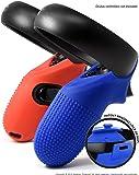 Asterion Oculus Quest/Rift-S 进化控制器皮肤 - 高级凝胶外壳硅胶抓握保护盖带超*锁适用于 Touch v2 ( 2 件套 )