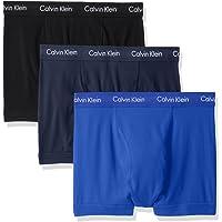 Calvin Klein 卡尔文·克莱恩 男式 Elements 平角内裤 3件装