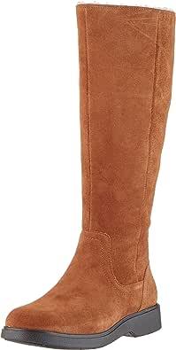 Clarks Un Elda Hi 女式套靴 长筒靴
