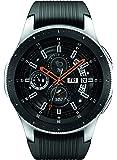 Samsung 三星 Galaxy 智能手表(46mm,GPS,蓝牙)–银色/黑色