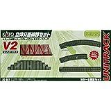 KATO N 轨距 V2 立体交叉线路套装 20-861 铁道模型 轨道套装
