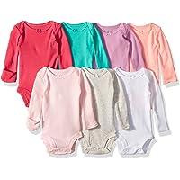 Carter ' s 婴儿女童6件装长袖紧身衣