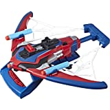 蜘蛛侠蜘蛛侠蜘蛛侠电动玩具枪,适合 5 岁及以上儿童