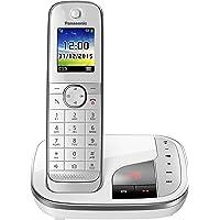 Panasonic 松下 家庭电话KX-TGJ320GW 1 Telefon + Anrufbeantworter 白色