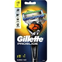 Gillette Fusion5 ProGlide 男士剃须刀, 1 Razor, 2 Cartridge