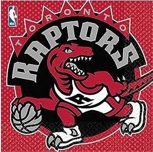 Toronto Raptors Lunch Napkins - 16 Per Unit