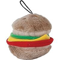 Aspen Pet Products Bite Hamburger 软玩具,中号