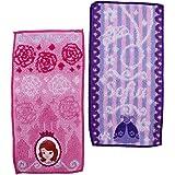 小公主苏菲亚 袖珍毛巾 公主风格挂件 2件装 粉色 ワンサイズ