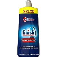 Finish 漂洗助剂 具有上光和玻璃保护作用 带给您光泽无水渍的餐具 大包装,3支装(3 x 1150ml)