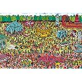 BEVERRY 1000微片 拼图 Where's Wally? 休息日游乐场微型片(26×38cm) M81-726