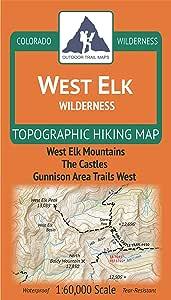 West Elk Wilderness - 科罗拉多地形徒步地图 (2019)
