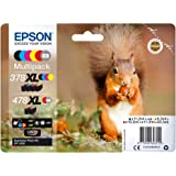 EPSON 多包装 6 色 378XL/478XL 小松鼠包括 R/G Clara Phto HD Ink