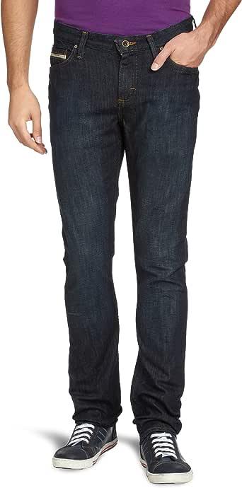 VANS 范斯 男式 牛仔裤 VN-0K4D5ZX034032 复古靛青 W34 L32(臀围34 裤长32)