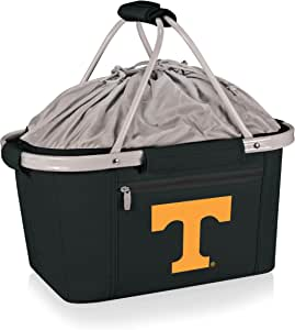 PICNIC TIME 645-00-175-552-0 Tennessee University Knoxville Embroidered Metro Picnic Basket, Black