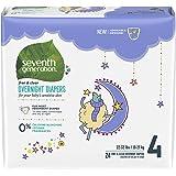 Seventh Generation *七世代 宝宝 自由清爽 夜间尿布 包装或有不同 4 96