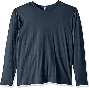 Marky G Apparel 男士棉质长袖圆领(3 件装) 靛蓝色 XX-Large