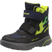 Geox 男孩 J Sveggen 男童 B ABX D 雪地靴