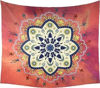 zrck 墙 hangings 挂毯酷炫曼陀罗印度墙壁艺术装饰传统嬉皮 tapestries 适用于客厅
