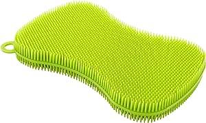 Kuhn Rikon Stay Clean 硅胶磨砂膏,绿色 绿色 100 602577-20126