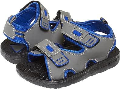 Skysole 男童双可调节鞋带轻便凉鞋(参见更多颜色和尺码)