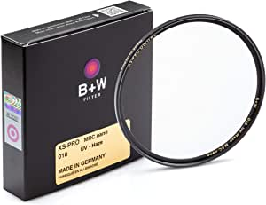B+W UV镜 过滤保护(67mm,MRC Nano,XS-Pro,16倍过滤,纤薄,优质)