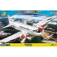 COBI COBI-5702 柏林空运之C-47运输机 拼插模型,多色