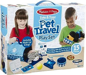 Melissa & Doug Tote & Tour 宠物旅行玩具套装