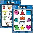 Shapes & Colors 儿童海报图表套装 - 层叠 - 双面 18x24