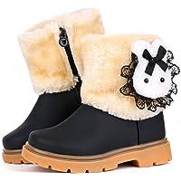 femizee 女婴幼童冬季皮草 SHOES 兔子保暖雪地靴9 – 72个月