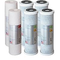 APEC Water Systems APEC Ultimate系列美国制造2套1、2、3级替换水底系统(过滤器—SET…