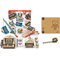 Nintendo 任天堂 Labo Toy-Con01: Variety Kit-Switch 機器人套裝 原裝膠帶+專屬額外零件